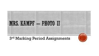 Mrs. Kampf – Photo II