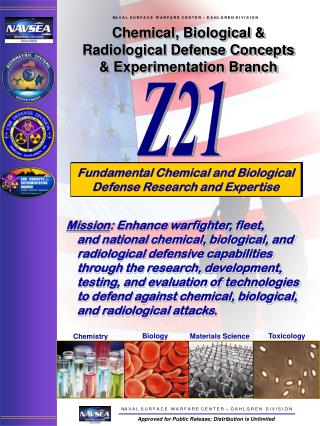 Chemical, Biological & Radiological Defense Concepts & Experimentation Branch