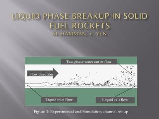LIQUID  PHASE BREAKUP IN Solid FUEL ROCKETS M.  Hamman , Y. Yen
