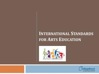 International Standards for Arts Education