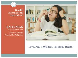 Love. Peace. Wisdom. Freedom. Health