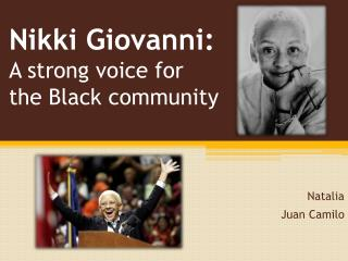 Nikki Giovanni: A strong voice for the Black community