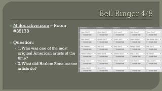 Bell Ringer 4/8
