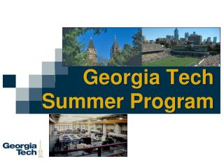 Georgia Tech Summer Program