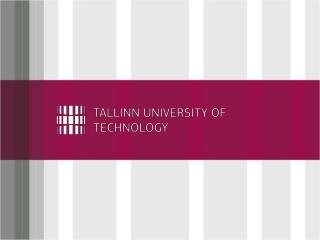 Tallinn University  of Technology (1918)