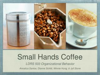 Small Hands Coffee