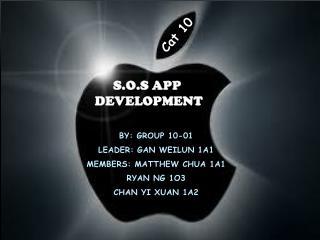 S.O.S App  development