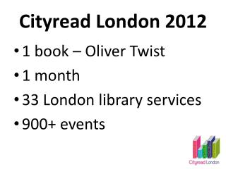 Cityread London 2012