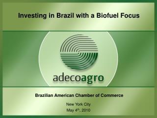 Brazilian American Chamber of Commerce