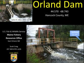 Orland Dam