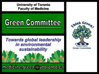 University of Toronto  Faculty of Medicine