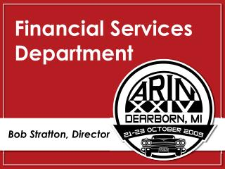 Financial Services Department