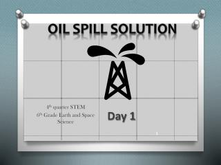 Oil Spill Solution