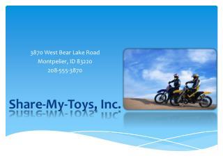 Share-My-Toys,  Inc .
