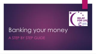 Banking your money
