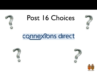 post-16 choices