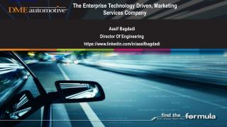 The Enterprise Technology Driven, Marketing Services Company