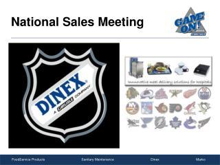 National Sales Meeting