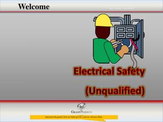 Electrical Safety (Unqualified)
