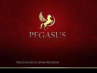 PRECIOUS METAL BANK PROGRAM