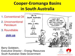 Cooper-Eromanga Basins in South  Australia