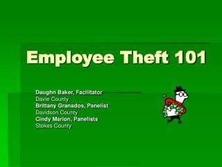 employee theft 101