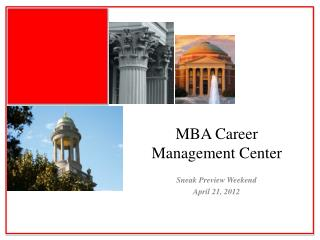 MBA Career Management Center