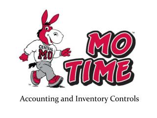 Accounting and Inventory Controls