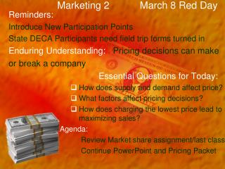 Marketing 2           March  8  Red Day