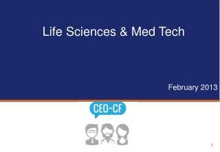 Life Sciences & Med Tech