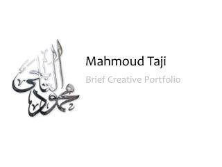 Mahmoud  Taji