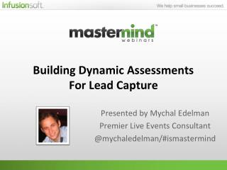 Building Dynamic Assessments For Lead Capture