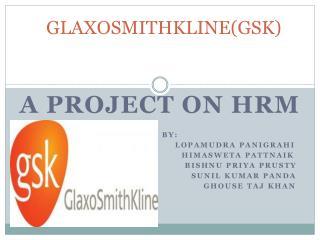 GLAXOSMITHKLINE(GSK)
