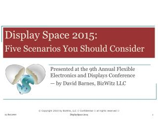 Display Space 2015: Five Scenarios You Should Consider
