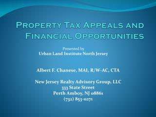 Property Tax Appeals and Financial Opportunities