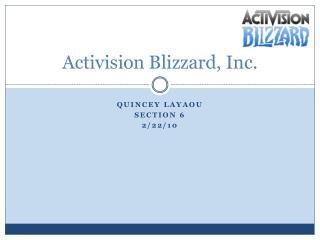 Activision Blizzard, Inc.