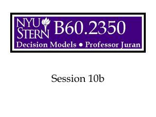 Session 10b