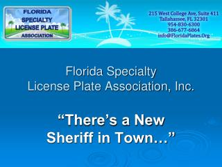 Florida Specialty  License Plate Association, Inc.