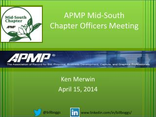 APMP Mid-South Chapter Officers Meeting