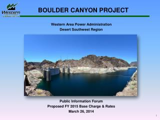 BOULDER CANYON PROJECT