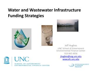 Water and Wastewater Infrastructure Funding Strategies