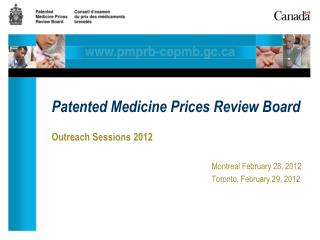 Patented Medicine Prices Review Board