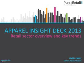 APPAREL INSIGHT DECK 2013