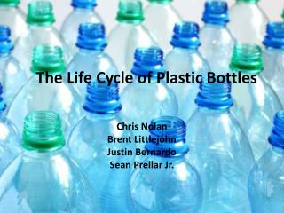 The Life Cycle of Plastic Bottles