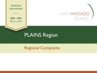 PLAINS Region