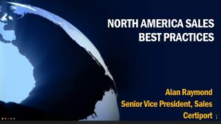 North America Sales Best Practices