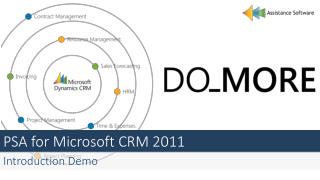 PSA for Microsoft CRM 2011