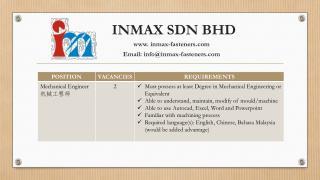 INMAX  SDN BHD