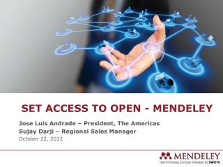 Set Access to Open - Mendeley