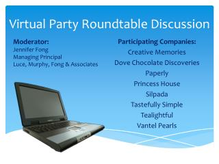 Virtual Party Roundtable Discussion